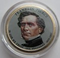 USA 1 $ Franklin Pierce 2010 nr 14 KOLOR x2