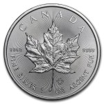 Kanada 5$ Maple Leaf 1 OZ Ag.999 2019