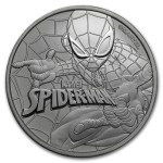 Tuvalu 1$ Spiderman 2017 1 Oz Ag.999