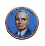 USA 1 $ Harry S. Truman 2015 nr 33 kolor x 1
