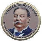 USA 1 $ William Taft 2013 nr 27 kolor x 1