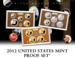 USA full proof set x 14 monet 2012