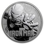 Tuvalu 1$ Iron Man 2018 1 Oz Ag.999