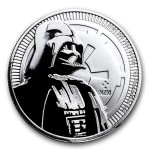 Niue 2 $ Darth Vader Star Wars 2017 1 Oz Ag.999