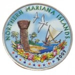 USA 25 c Northern Mariana Islands 2009 KOLOR