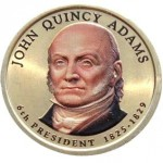 USA 1 $ Quincy Adams 2008 nr 6 KOLOR x1