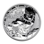 Tuvalu 1$ Black Panther 2018 1 Oz Ag.999