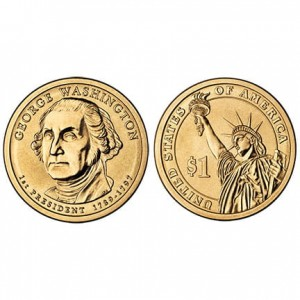 USA 1 $ George Washington 2007 nr1
