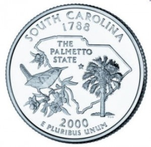 USA 25 c South Carolina 2000