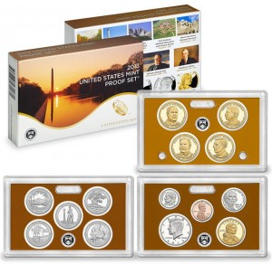 USA full proof set x 14 monet 2013
