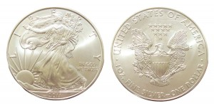 USA 1$ Eagle liberty 1 OZ Ag.999 2011