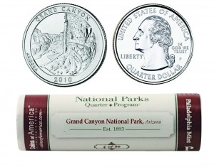 USA 40 x 25 c Grand Canyon 2010 P lub D