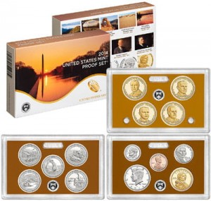 USA full proof set x 14 monet 2014