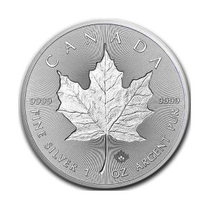 Kanada 5$ Maple Leaf 1 OZ Ag.999 2019 Incuse