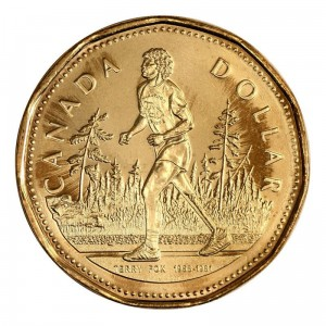 Kanada 1 $ Terry Fox 2005