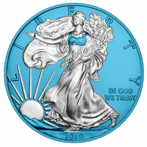 USA 1$ Eagle liberty 1 OZ Ag.999 2019 SB