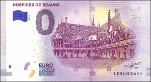 UE 0 euro Hospices de Beaune 2019.1