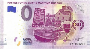 UE 0 euro Flying Boat & Maritime Museum 2019.1