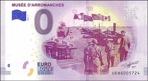 UE 0 euro Musee D'Arromanches 2019.2