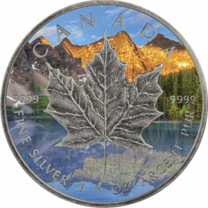 Kanada 5$ Maple Leaf Summer 1 OZ Ag.999 2017