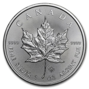 Kanada 5$ Maple Leaf 1 OZ Ag.999 2020