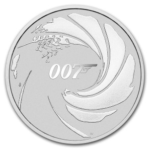 Tuvalu 1$ James Bond 007 2020 1 Oz Ag.999