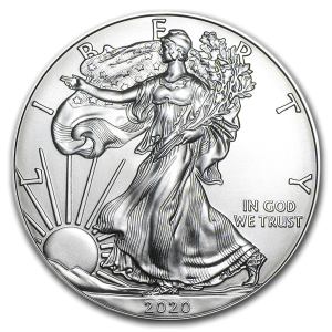 USA 1$ Eagle liberty 1 OZ Ag.999 2020