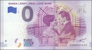 0 euro Banka Lasky Real love bank 2018.1