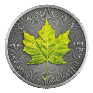 Kanada 5$ Maple Leaf Spring 1 OZ Ag.999 2020