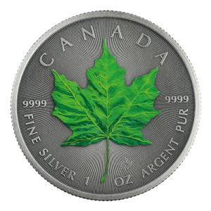 Kanada 5$ Maple Leaf Summer 1 OZ Ag.999 2020