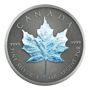 Kanada 5$ Maple Leaf Winter 1 OZ Ag.999 2020