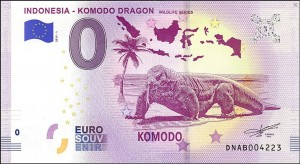 0 euro Indonesia - Komodo dragon 2019.1