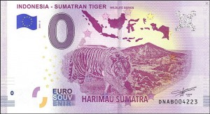 0 euro Indonesia -  Sumatran Tiger 2019.2