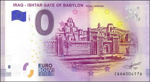 0 euro Iraq-Ishtar Gate of Babylon 2019.1