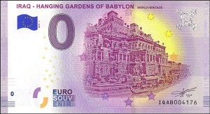 0 euro Iraq-Hanging Gardens of Babylon 2019.1