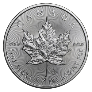 Kanada 5$ Maple Leaf 1 OZ Ag.999 2021
