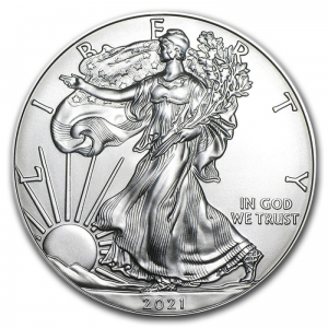 USA 1$ Eagle liberty 1 OZ Ag.999 2021