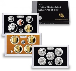 USA Proof set Ag x 14 monet 2011