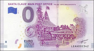 UE 0 euro Santa Claus' Main Post Office 2018.2