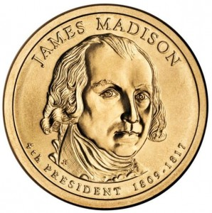USA 1 $ James Madison 2007 nr 4