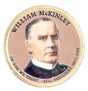 USA 1 $ William McKinley 2013 nr 25 kolor x 1