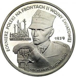 5000 zł Westerplatte - Major Sucharski 1989