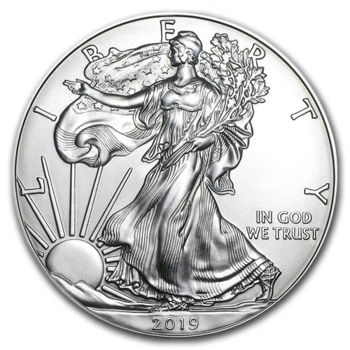 USA 1$ Eagle liberty 1 OZ Ag.999 2019